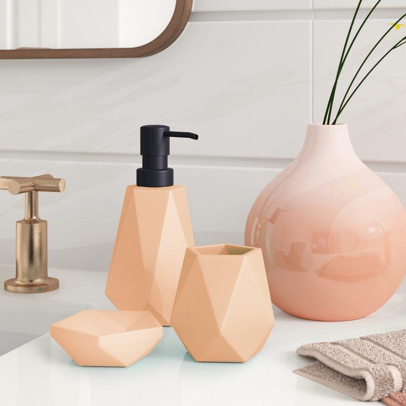 Foundstone™ Tori Ceramic 3 Piece Bathroom Accessory Set ...