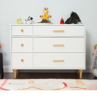 Best Price Lolly 6 Drawer Double Dresser by babyletto Reviews (2019) & Buyer's Guide