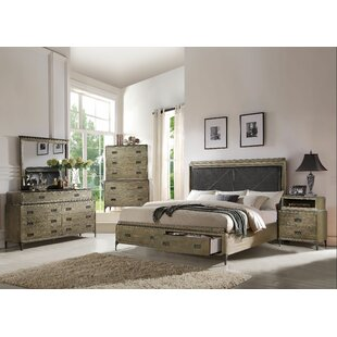 Gracie Oaks Cosima Panel Configurable Bedroom Set