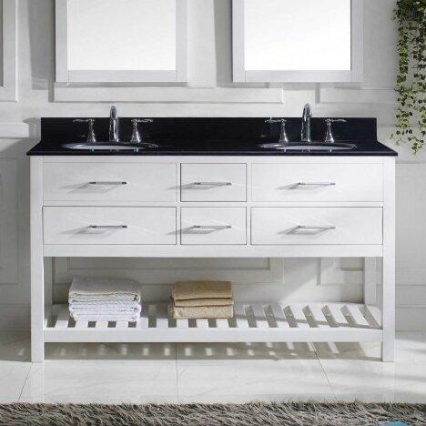 Caroline Estate 60 Bathroom Vanity Cabinet