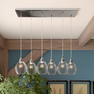 Orofino 6-Light Cluster Pendant by Laurel Foundry Modern Farmhouse