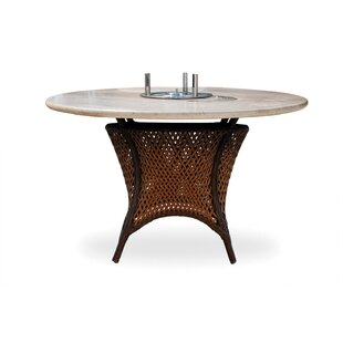 Lloyd Flanders Grand Traverse Vinyl Fire Pit Table