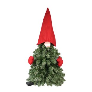 2 5 Gnome Green Artificial Christmas Tree