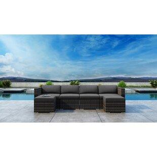 Gilleland 6 Piece Sectional Set with Sunbrella Cushion