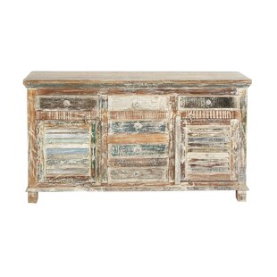 Hendrick Rustic Rectangular Distressed Sideboard by World Menagerie