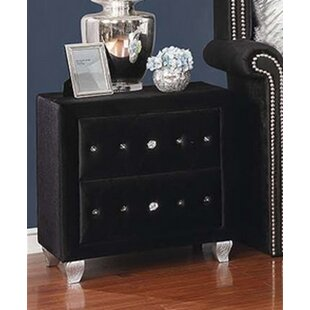 Guidry 2 Drawer Nightstand by Mercer41