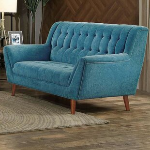Zane Upholstered Flared Loveseat