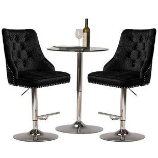 Alaniz Height Adjustable Swivel Bar Stool By Willa Arlo Interiors