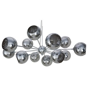 Sylvie 12-Light Sputnik Chandelier by Nuevo