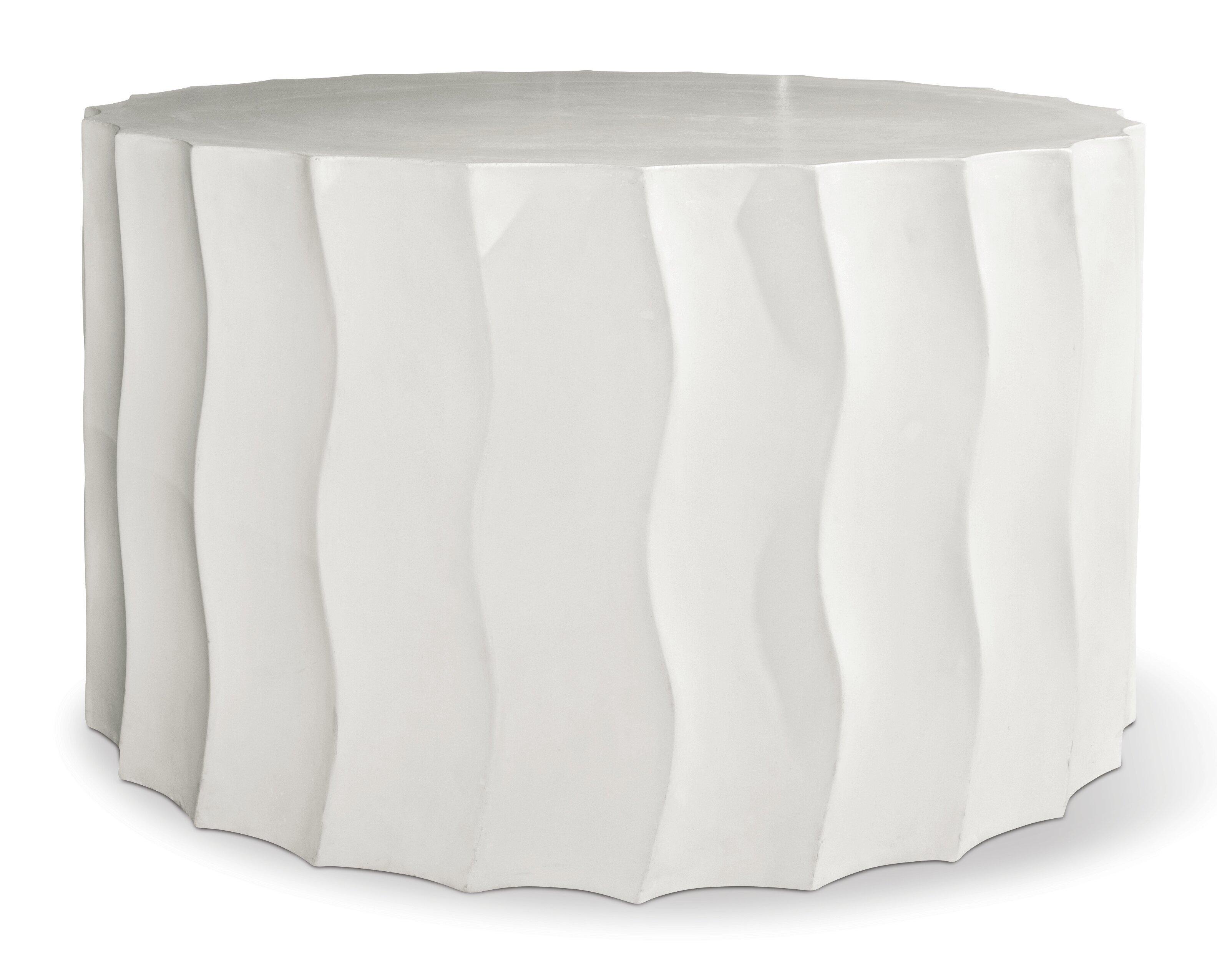 Seasonalliving Perpetual Concrete Side Table Reviews Wayfair