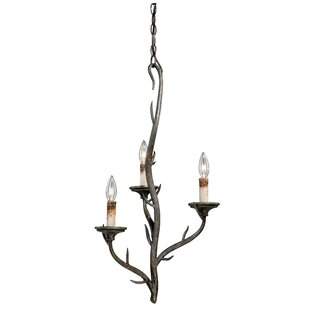 Loon Peak Polzin 3-Light Candle Style Cha..