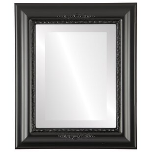 Charlton Home Wisbech Framed Rectangle Accent Mirror