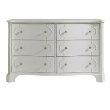 Charleston Regency 6 Drawers Island House Dresser by Stanley Furniture