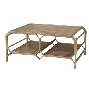 Laflamme Wood and Metal Coffee Table by Brayden Studio