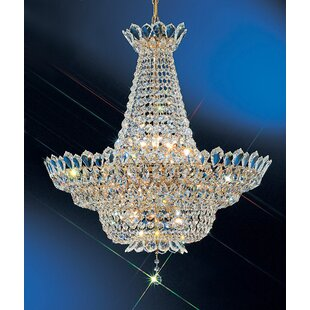 Tiara 16-Light Empire Chandelier by Classic Lighting