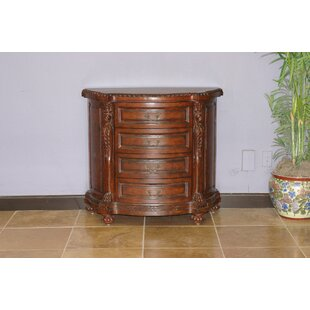 Fleur De Lis Living Cazares 4 Drawer Accent Chest
