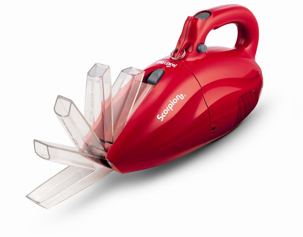 Scorpion Quick Flip Handheld Vacuum Cleaner