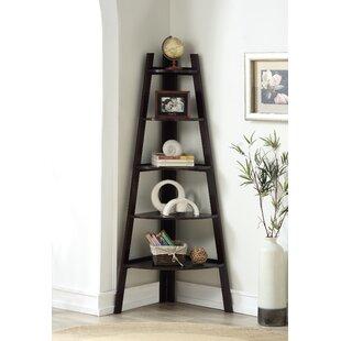 Best Reviews Galaviz Wood Corner Unit Bookcase ByEbern Designs