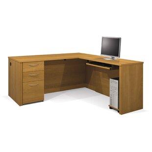 Lexington 4 Piece L-Shape Desk Office Suite by Zipcode Design