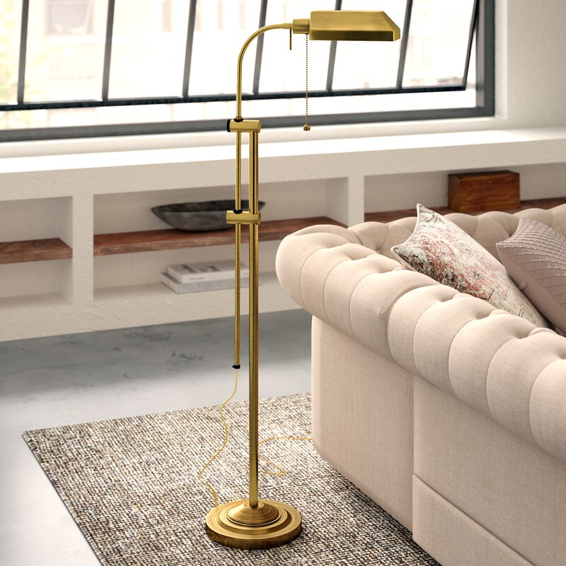 Fishel 59 Task Reading Floor Lamp