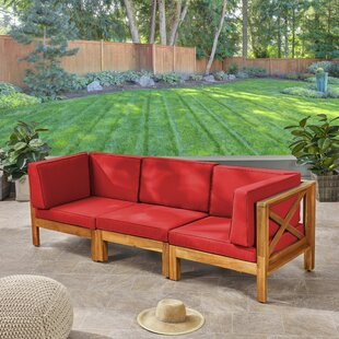 Anneke Patio Sofa with Cushions