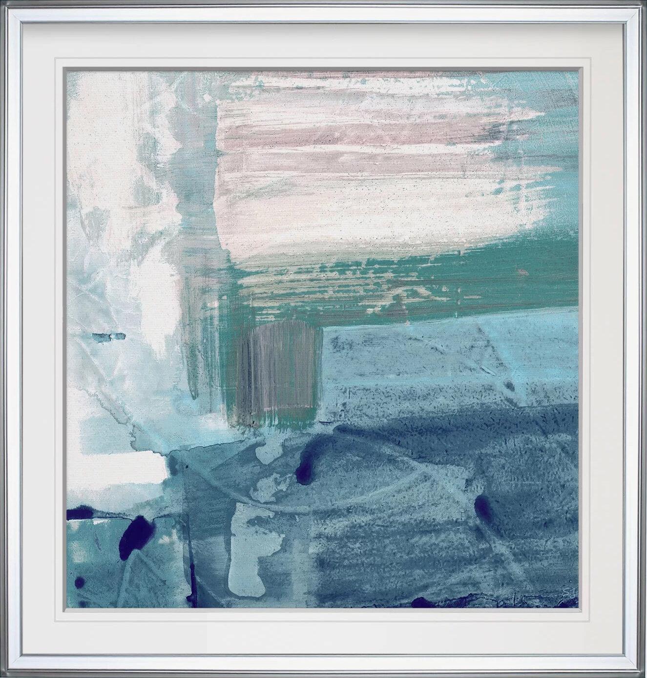 Three Posts Miss The Sea Iv Framed Print Reviews Wayfair