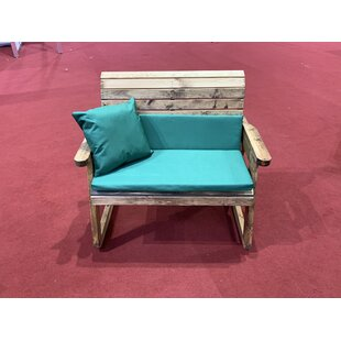 Fuentes Rocking Bench With Cushions By Union Rustic