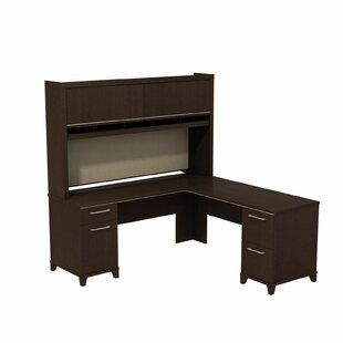Enterprise Corner 2 Piece L-Shape Desk Office Suite by Bush Business Furniture
