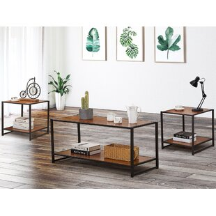 Jennings 3 Pieces Coffee Table Set