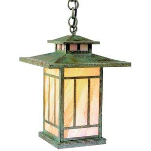 Arroyo Craftsman Kennebec 1-Light Outdoor Hanging Lantern