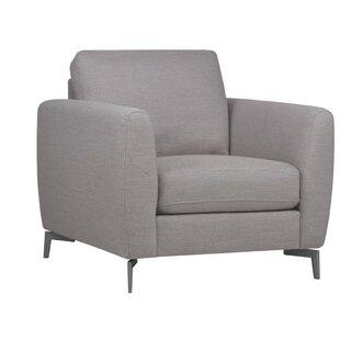 Boustrophedon Modern Armchair by Brayden Studio