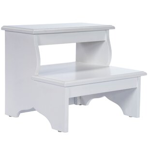 Sensational Copley 2 Step Wood Step Stool With 375 Lb Load Capacity Ocoug Best Dining Table And Chair Ideas Images Ocougorg
