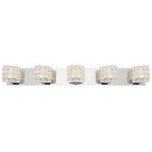 Orren Ellis Jimenez 5-Light Vanity Light