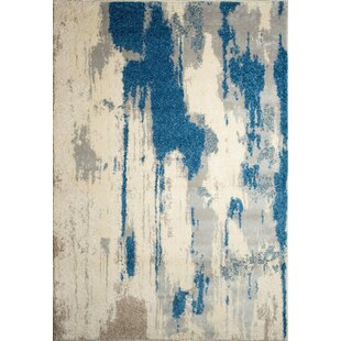 Affordable Alberto Off-White Area Rug By Ren-Wil
