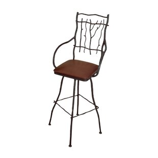 South Fork Large 16 Swivel Bar Stool by 17 Stories