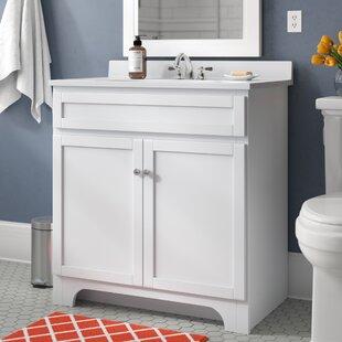 Price comparison Hanaford 24 Single Bathroom Vanity Set ByAndover Mills