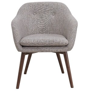 Noah Wood Leg Arm Chair by George Oliver