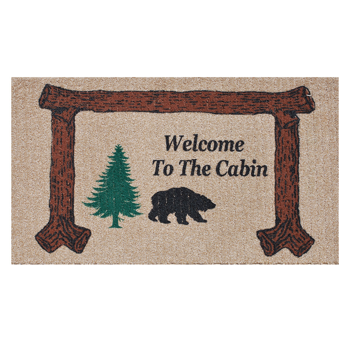 Charmant Home U0026 More Welcome To The Cabin Doormat U0026 Reviews | Wayfair