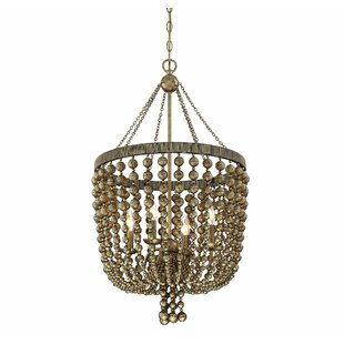 Bungalow Rose Pericles 4-Light Novelty Chandelier