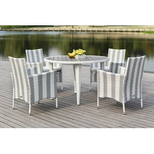 Breakwater Bay Rodric 5 Piece Dining Set