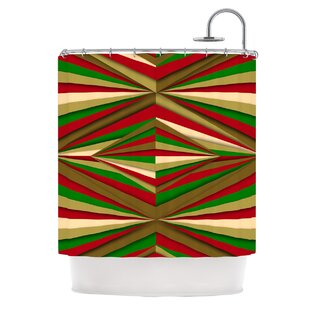 Christmas By Danny Ivan Single Shower Curtain by East Urban Home Modern