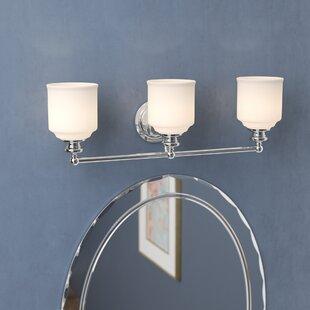 Three Posts Gastonville 3-Light Vanity Light