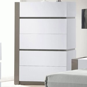 Manila 5 Drawer Chest by Chintaly Imports