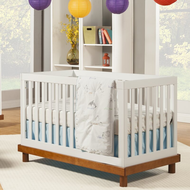 Baby Mod Olivia 3-in-1 Convertible Crib | Wayfair