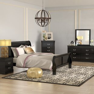 Larrabee Queen Sleigh 4 Piece Bedroom Set
