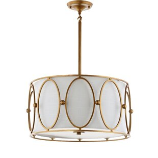 Everly Quinn Figaro Metal 3-Light Pendant
