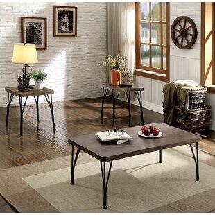 Williston Forge Tempest 3 Piece Coffee Table Set