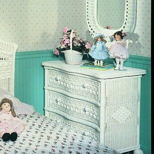 Classic 3 Drawer Dresser by Yesteryear Wicker