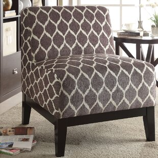 Warrenton Slipper Chair by Bungalow Rose No Copoun