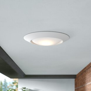 Bealeton LED Outdoor Flush Mount by Ebern Designs